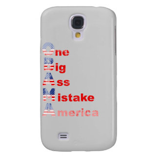 Obama mistake 2 Faded png Galaxy S4 Covers