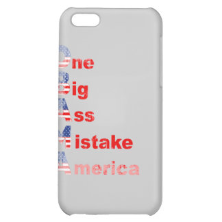 Obama mistake 2 Faded png iPhone 5C Cover