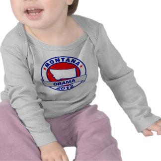 Obama - Montana Camisetas