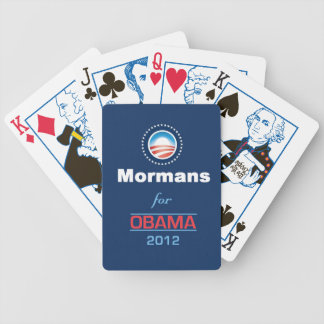 OBAMA MORMANS BICYCLE PLAYING CARDS