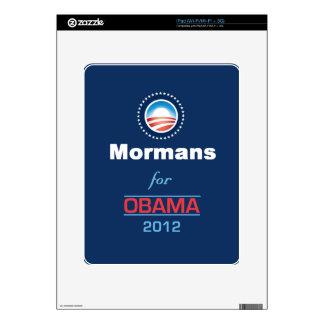 Obama MORMANS Calcomanías Para El iPad