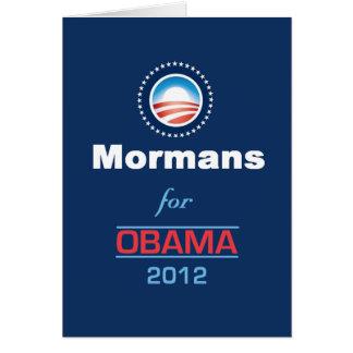 Obama MORMANS Card