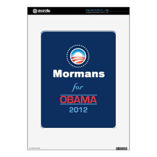 Obama MORMANS Decals For iPad