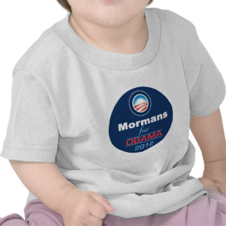 Obama MORMANS Camiseta