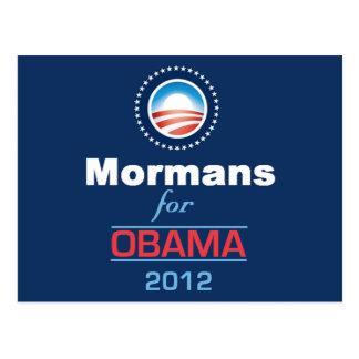 Obama MORMANS Postcard