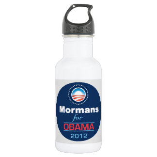 OBAMA MORMANS STAINLESS STEEL WATER BOTTLE