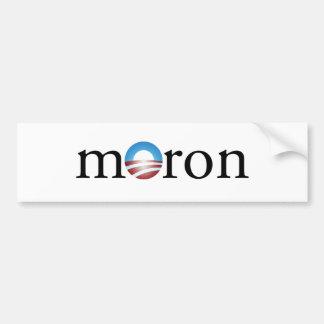 Obama Moron Bumper Sticker Car Bumper Sticker