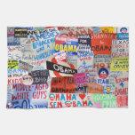 Obama: Muestras de las toallas de cocina de la esp