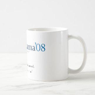 Obama Mug with logo and quote