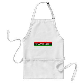 obama mugabe obamugabe adult apron