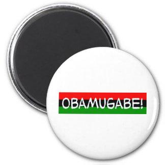 obama mugabe obamugabe refrigerator magnets