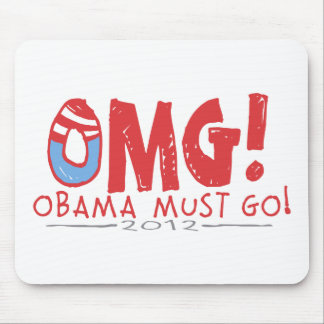 Obama Must Go 2012 Mouse Pad