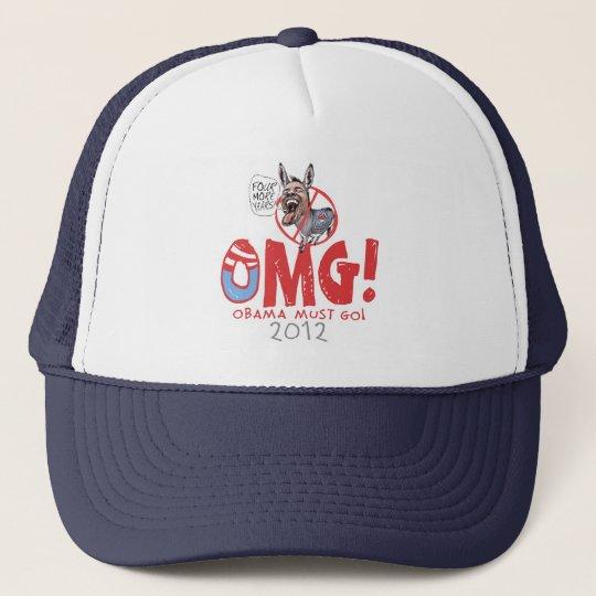 Obama Must Go 2012 Trucker Hat