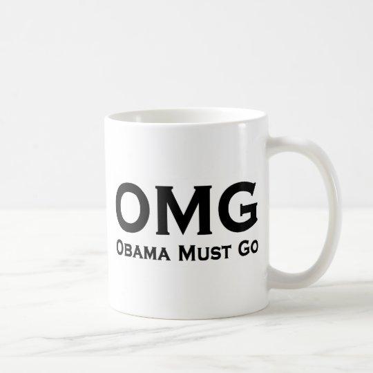 Obama Must Go Anti Obama Coffee Mug
