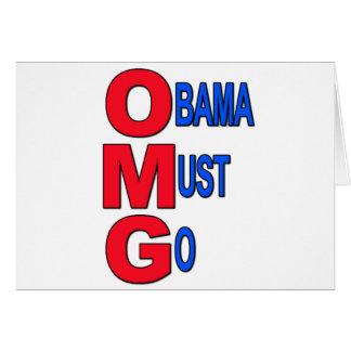 Obama Must Go Cards