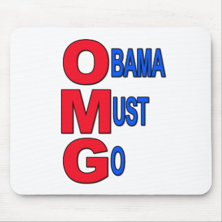 Obama Must Go Mouse Pad