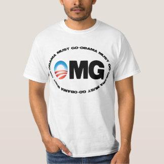 Obama Must Go OMG T-Shirt