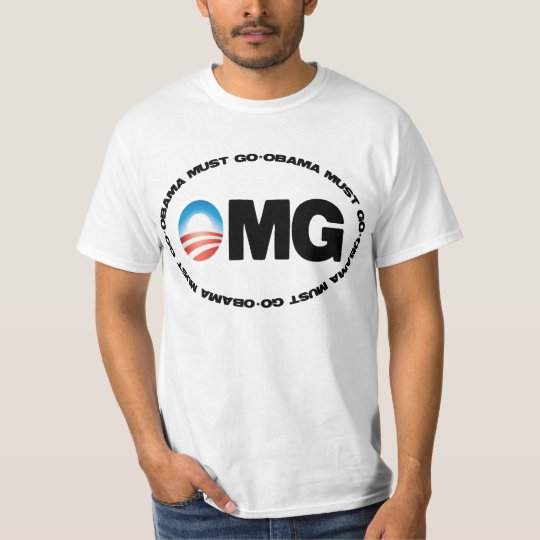 Obama Must Go OMG T-Shirt