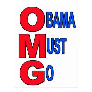 Obama Must Go Postcards