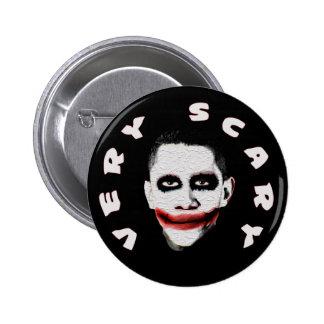 Obama = muy asustadizo pin redondo 5 cm
