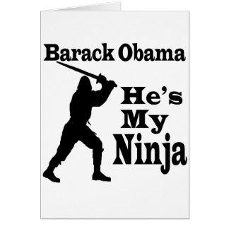 Obama My Ninja Card