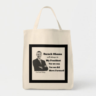 Obama My President Move Forward Bag