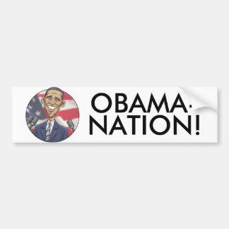 Obama-nation Bumper Sticker