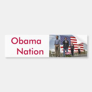 Obama   Nation Car Bumper Sticker