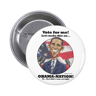 Obama-Nation Button