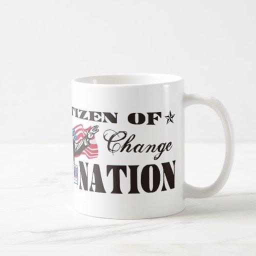 Obama Nation Cartoon Mug