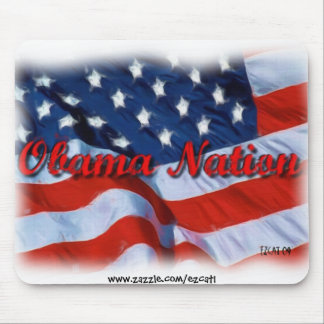 Obama Nation Mouse Pad