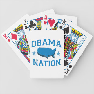 OBAMA NATION -.png Bicycle Poker Cards