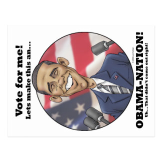 Obama-Nation Postcard
