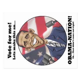 Obama-Nation Postcard