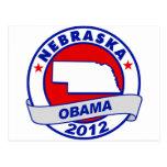 Obama - nebraska postcard