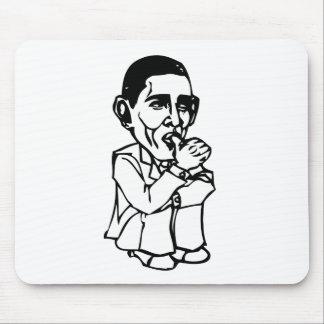 Obama necesita un cambio del pañal alfombrillas de ratones