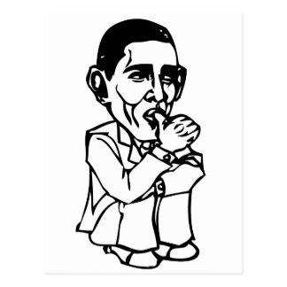 Obama necesita un cambio del pañal tarjeta postal