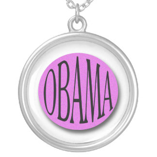 Obama Personalized Necklace