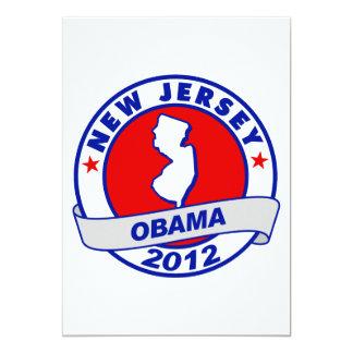 Obama - new jersey card