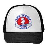 Obama - new jersey trucker hat
