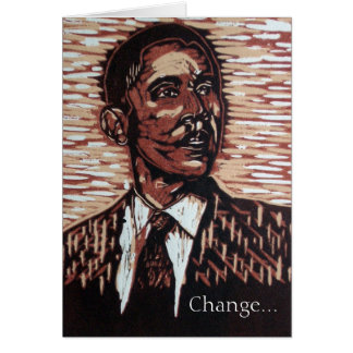 Obama New Year's Greeting Card
