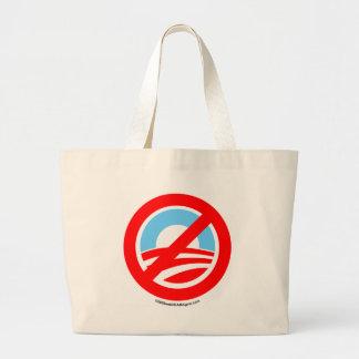 Obama ningún logotipo bolsas