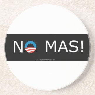 ¡Obama ningún Mas! Prácticos de costa Posavasos Personalizados