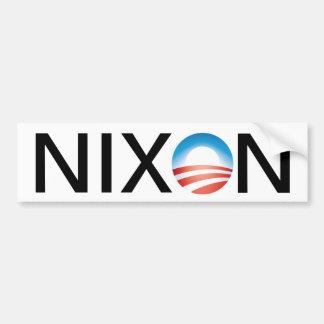 Obama=Nixon Bumper Sticker