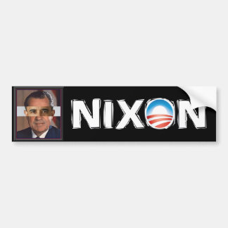 Obama - Nixon Fast and Furious Scandal Bumper Sticker