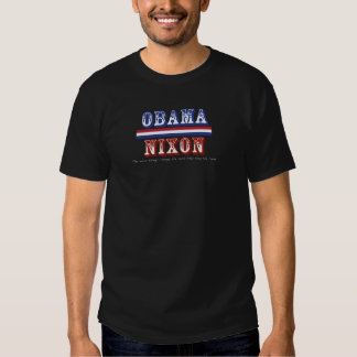 Obama Nixon I T Shirt