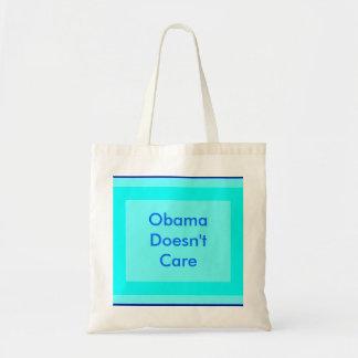 Obama no cuida bolsa tela barata