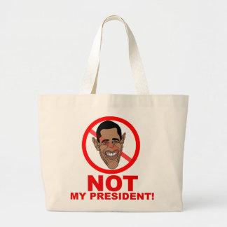 Obama no es mi presidente bolsa
