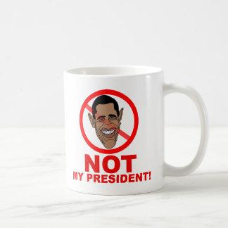 Obama no es mi presidente tazas de café