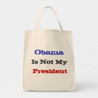 Obama no es mi ultramarinos del presidente la bolsas